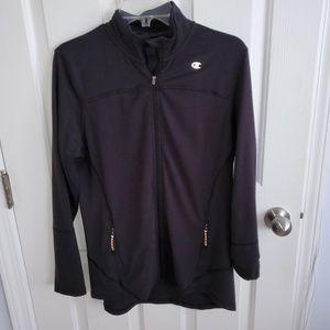Champion Black Running Jacket Size L